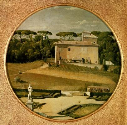 'Casino of Raphael' in the gardens of the Villa Borghese, Rome, 1807
