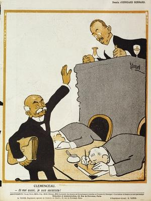 'Me too, I'm a socialist', cartoon from 'L'Assiette au Beurre', 8 December, 1906