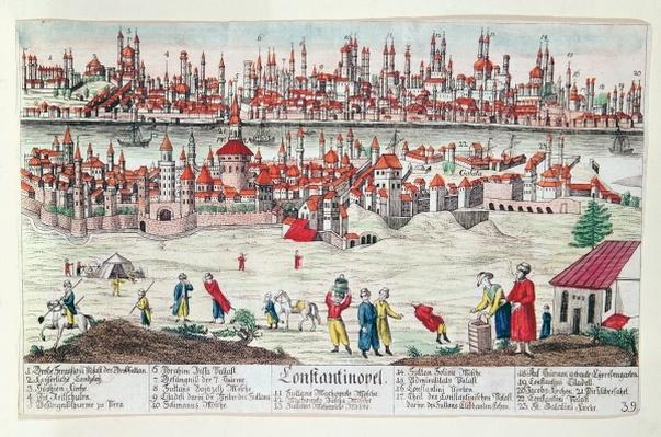 Panoramic view of Constantinople