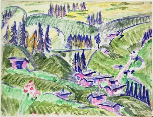 Landscape, 1918