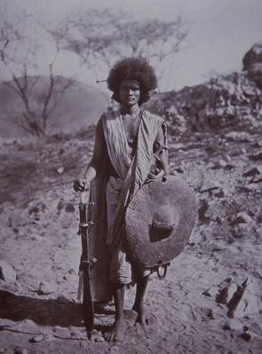 Dervish Hademdowah warrior, Sudan, 1890