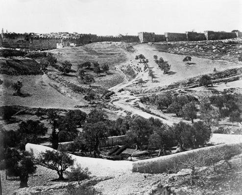 Garden of Gethsemane, 1857