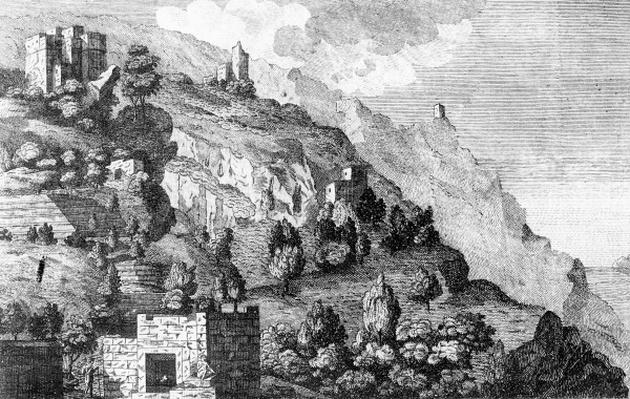 Prospect amoung the Coffee Mountains of Yemen, from 'Travels through Arabia' by Carsten Niebuhr, c.1792