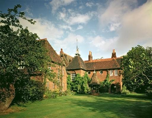 View of the exterior, designed for William Morris