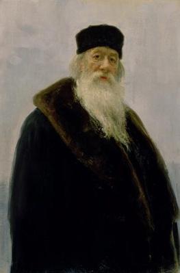 Portrait of Vladimir Vasil'evich Stasov