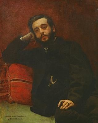 Portrait of Adrien Barthe, 1866