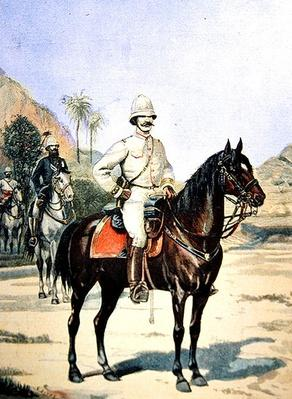 General Gallieni, from 'Le Petit Journal', 11 June 1899