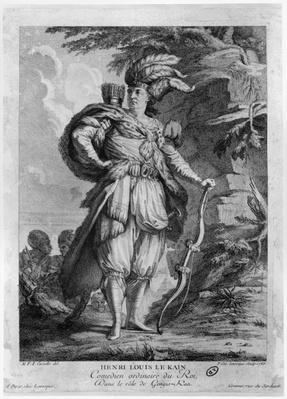 The actor Lekain as Genghis Khan, in 'L'Orphelin de La Chine' by Voltaire