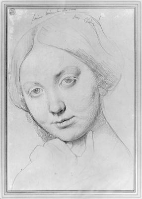 Louise de Broglie, Countess of Haussonville, c.1842