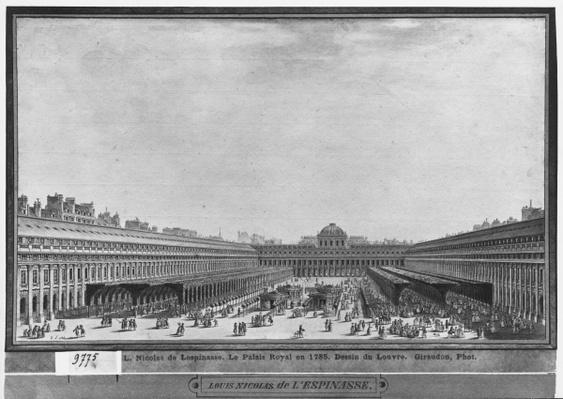 Garden of the Palais Royal, 1785
