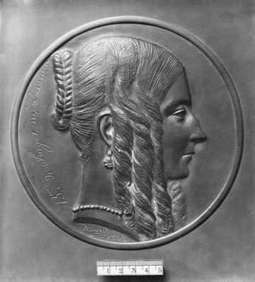 Baronne de Forget, born Lavalette, 1847