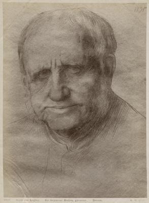 Sir Francis Seymour Haden, etcher, 1895