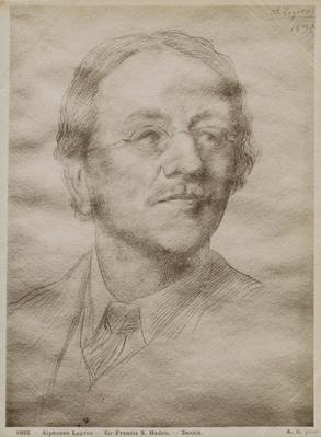 Sir Francis Seymour Haden Junior, 1895