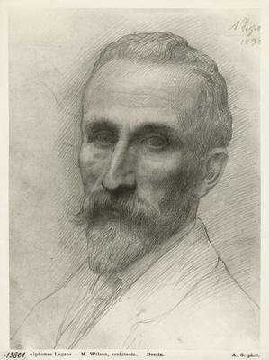 Mr Wilson, architect, 1898