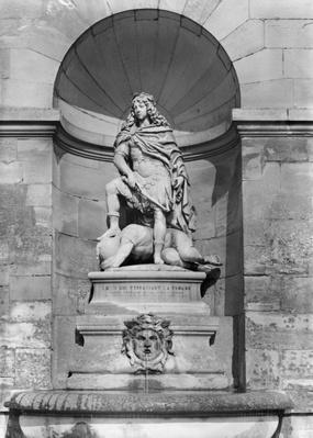Louis XIV trampling on the Fronde, 1654