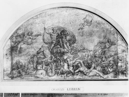 Neptune and Amphitrite or Reawakening of Waters, c.1663