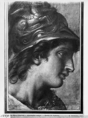 Alexander the Great, study for the painting 'The Tent of Darius' by Charles Le Brun in Versailles