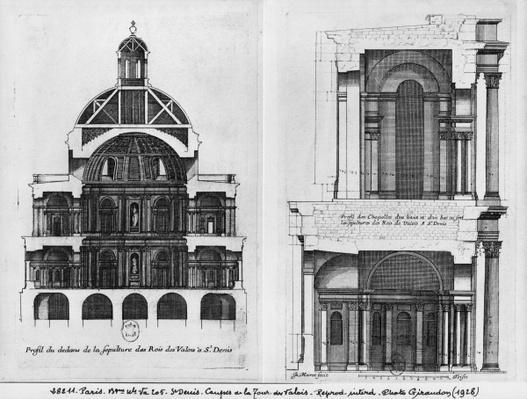 Basilica Saint-Denis, the Valois Tower, c.1655