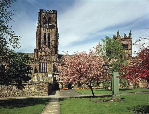 View of the exterior, built 1093-1280