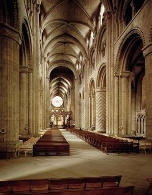 View of the nave, built 1093-1289