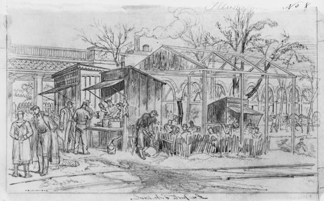Album of the Siege of Paris, Gate of Auteuil