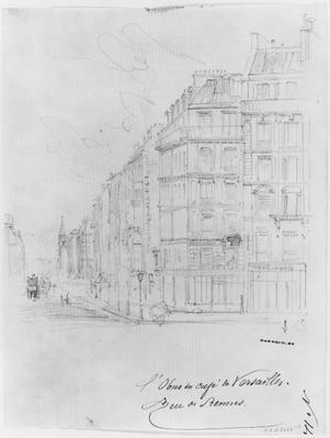 Album of the Siege of Paris, Shell of Cafe de Versailles, rue de Rennes