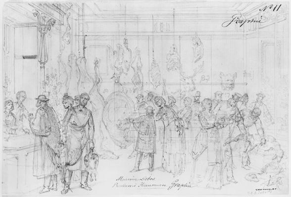Album of the Siege of Paris, Maison Debos, boulevard Haussmann