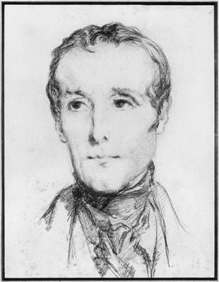 Portrait of Alphonse de Lamartine, c.1848