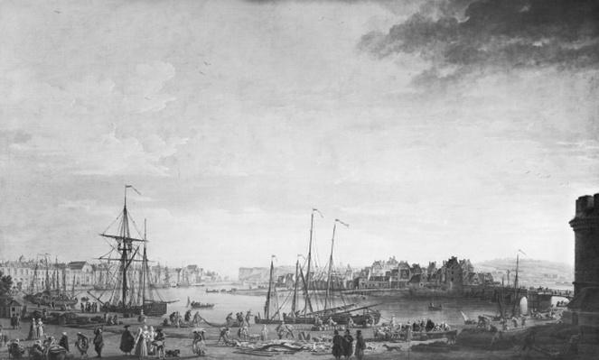 View of the Port of Dieppe, 1765