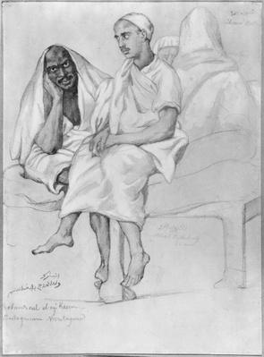 Negro and Arab from Mostaganem
