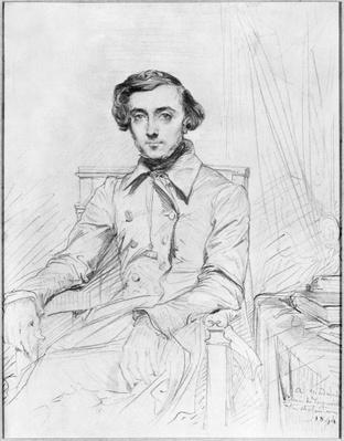 Portrait of Charles Alexis Henri Clerel de Tocqueville, 1844