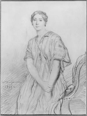 Portrait of Alice Ozy, 1849