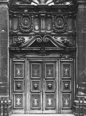 View of the facade of the Church of Saint-Paul-Saint-Louis, Paris, the main portal, 1627-41