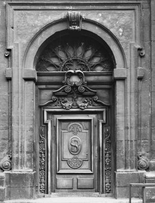 View of the facade of the Church of Saint-Paul-Saint-Louis, Paris, the East portal, 1627-41