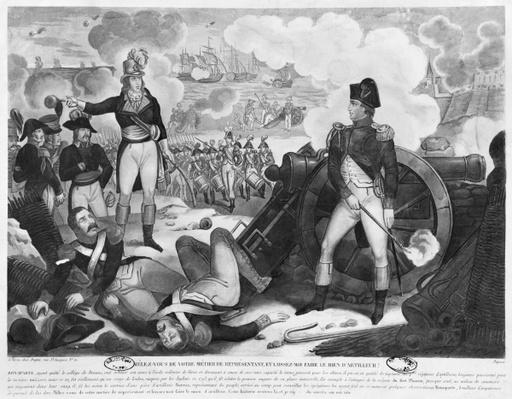 'Mind your own business as representative of the people and let me mind my own business of artilleryman', Napoleon Bonaparte answering to Barras at the Siege of Toulon in 1793