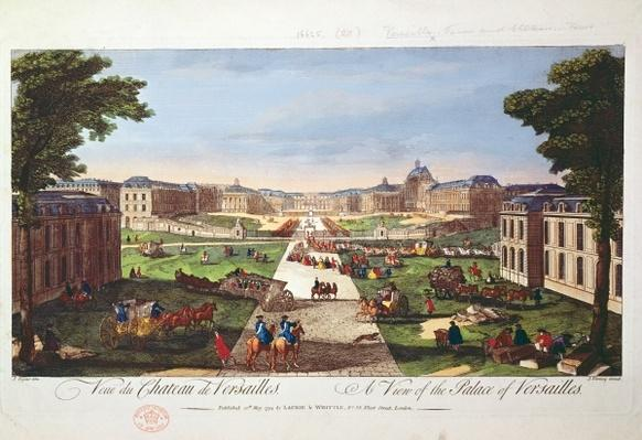 View of the Palace of Versailles, 1794