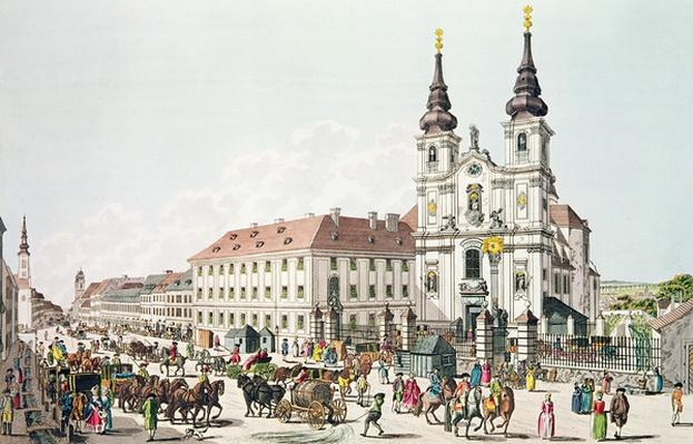 Parish Church and Convent of Mariahilf, Vienna, 1783