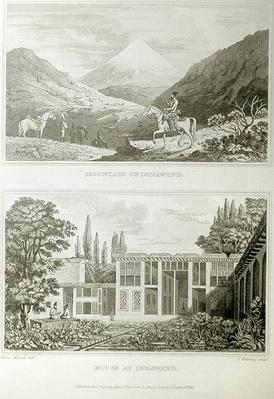 Mountain and House at Demavend, 1818