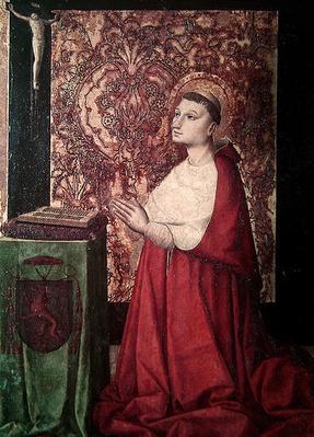 The Vision of St. Pierre de Luxembourg, Provencal School, c.1470