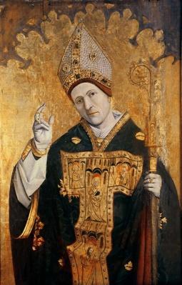 Saint Siffredus of Carpentras, Provencal school, c.1460-70