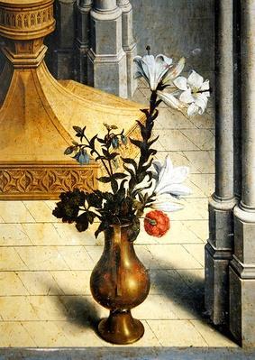 Vase of flowers. c.1445