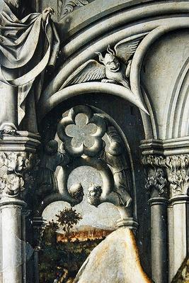 Architectural details from the Aix Annunciation, c.1445