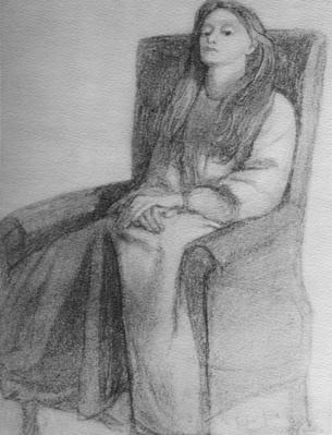 Elizabeth Siddal, c.1853