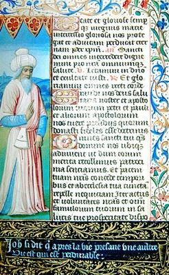 Job, from 'Heures a l'Usage de Rome'