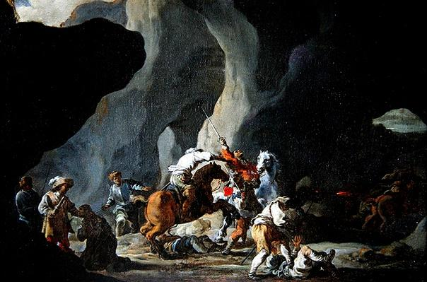 Attack of the Travellers, c.1634-37