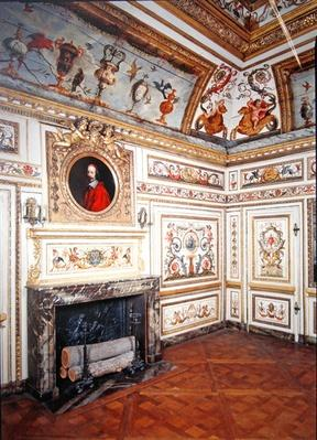 Painted room with polychromed motifs, c.1660