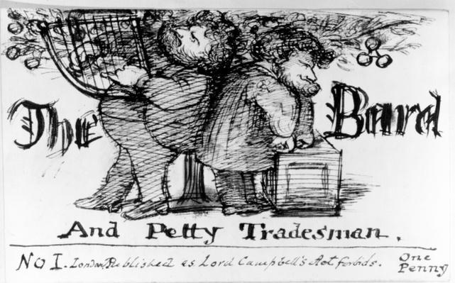 The Bard and Petty Tradesman, 1868