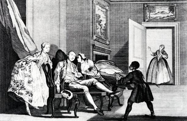 Stealing a Kiss, c,1743