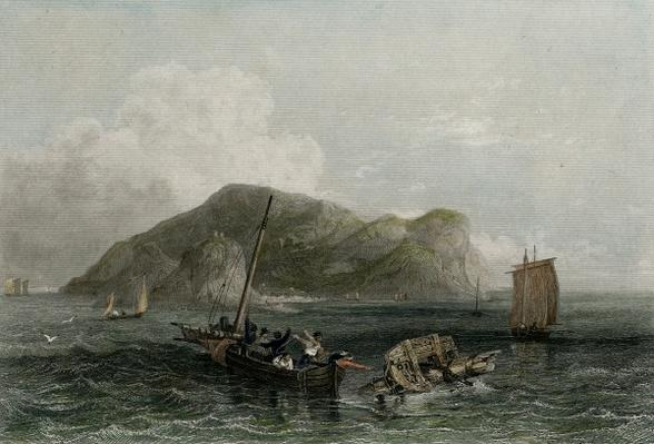 Terceira, engraved by Edward Finden