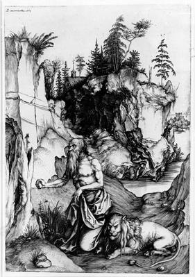 St. Jerome in the Wilderness, c.1496